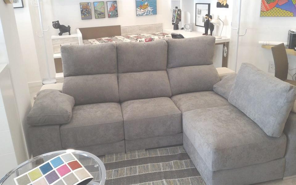 Sofá 3 plazas+chaise longue